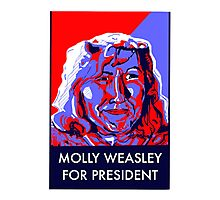 Molly Weasley For President Photographic Print