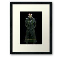 loki in a crown Framed Print