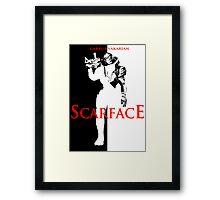 Garrus Scarface Framed Print