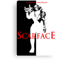 Garrus Scarface Canvas Print