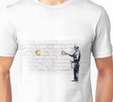 Banksy meets Pacman Unisex T-Shirt