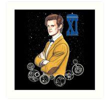 Eleventh Doctor (Matt Smith) Art Print