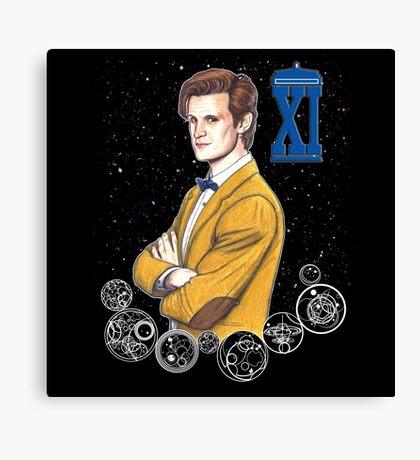 Eleventh Doctor (Matt Smith) Canvas Print