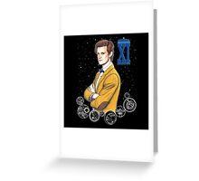 Eleventh Doctor (Matt Smith) Greeting Card