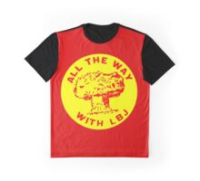 ALL THE WAY WITH LBJ Graphic T-Shirt