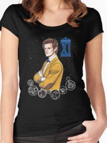 Eleventh Doctor (Matt Smith) Women's Fitted Scoop T-Shirt