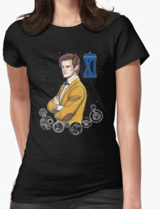 Eleventh Doctor (Matt Smith) Womens Fitted T-Shirt