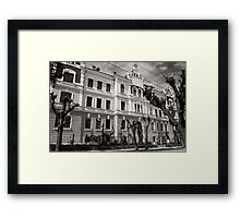 Institution for Disabled by Emperor Franz-Joseph Framed Print
