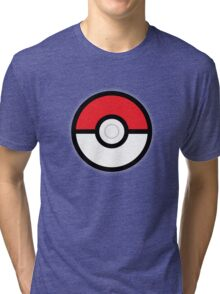 Pokéball Tri-blend T-Shirt
