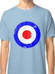 Distressed Mod Target Classic T-Shirt