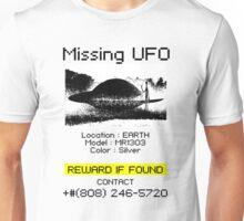 Missing UFO Unisex T-Shirt