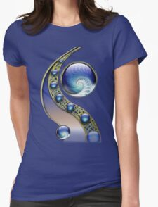 Abstract fractal fantasy Womens Fitted T-Shirt