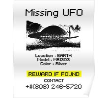 Missing UFO Poster