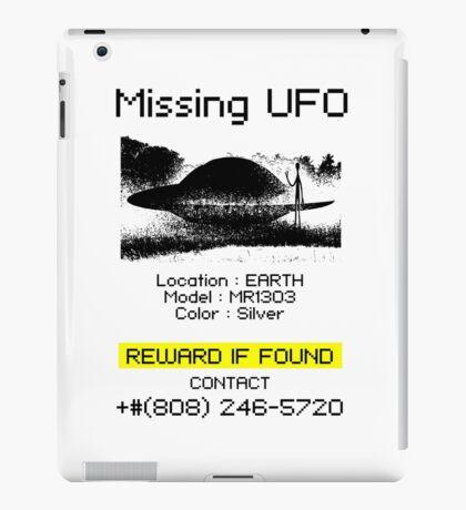 Missing UFO iPad Case/Skin