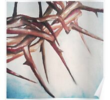 Crown of Thorns Painting Poster