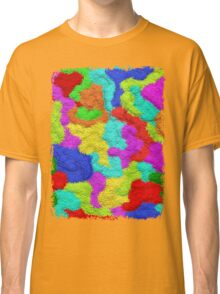 Psychedelic Glitter Pattern  Classic T-Shirt
