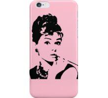 Pink Audrey Pop Art iPhone Case/Skin