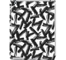 Gouache brush strokes #3 iPad Case/Skin
