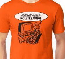 Incestry dot OMFG: INCESTRY.OMFG Unisex T-Shirt