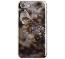 Snow Crystals Captures Ghost iPhone Case/Skin
