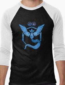 Pokemon Go: Team Mystic Men's Baseball ¾ T-Shirt