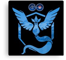 Pokemon Go: Team Mystic Canvas Print