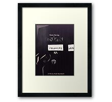 Frances Ha - Favorite Films  Framed Print