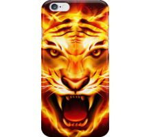 tiger flame iPhone Case/Skin