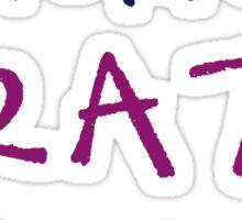 crazy camp 1 Sticker
