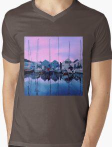 Sail Away Mens V-Neck T-Shirt