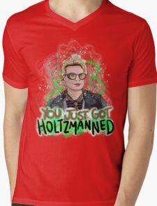 You Just Got Holtzmanned Ghostbusters  Mens V-Neck T-Shirt