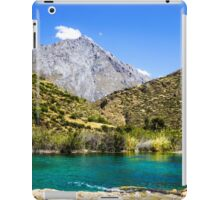Waterscape in the Peruvian Andes. Photographed near Huancayo, Peru  iPad Case/Skin