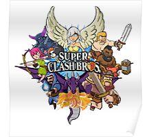 Super Clash Bros Poster