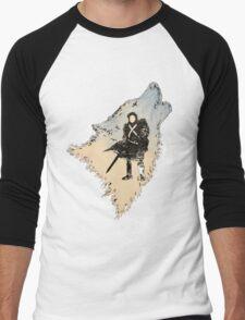 Game of Thrones Jon Snow Men's Baseball ¾ T-Shirt