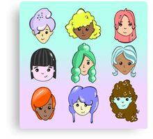 Hair Day Canvas Print