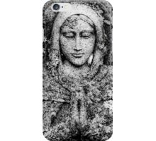 Saint In Stone iPhone Case/Skin