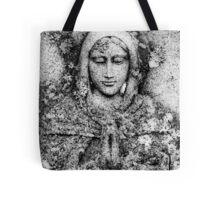 Saint In Stone Tote Bag