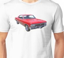 Red 1966 Chevy Chevelle SS 396 Unisex T-Shirt