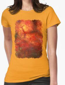 Quartz Stone Luminescence Womens Fitted T-Shirt