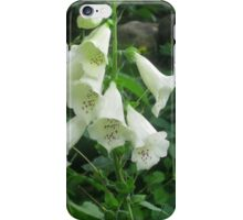 White Bells iPhone Case/Skin