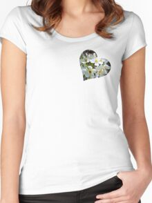 Beautiful blossoms Women's Fitted Scoop T-Shirt