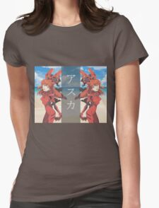 E V Λ W Λ V Ǝ   A S U K A Womens Fitted T-Shirt