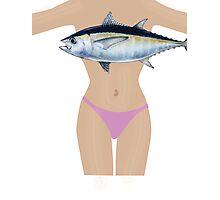 Fish Bra Photographic Print