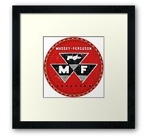Massey Ferguson Vintage Tractors and Equipment USA Framed Print