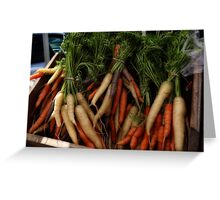 Carrots here Greeting Card