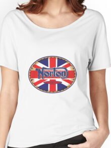 Norton Vintage Motorcycle UK Women's Relaxed Fit T-Shirt