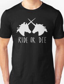 Ride or Die Unicorn Magic Unisex T-Shirt