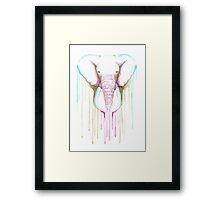 Watercolour Elephant Framed Print