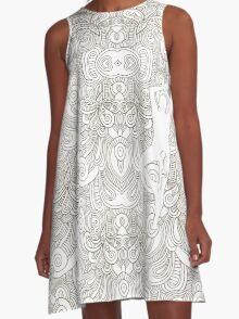 Coloryoga A-Line Dress