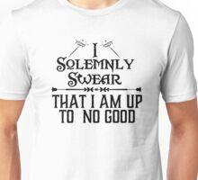 Harry Potter t shirt I Solemnly Swear No Good Up Am S Women Allwitty 1062 Mischief Managed Womens Juniors unisex cotton crew neck v women me Unisex T-Shirt
